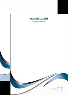 imprimerie affiche web design bleu fond bleu couleurs pastels MIF70857