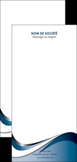 personnaliser modele de flyers web design bleu fond bleu couleurs pastels MIF70863