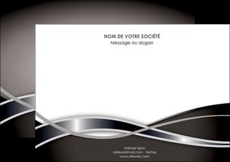 personnaliser modele de affiche web design noir fond gris simple MLGI70993