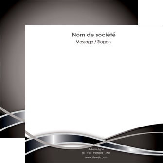 modele en ligne flyers web design noir fond gris simple MIS71003