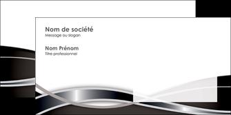 maquette en ligne a personnaliser enveloppe web design noir fond gris simple MLGI71007