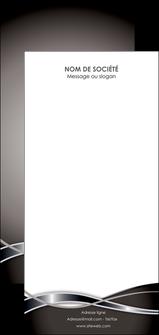 modele flyers web design noir fond gris simple MIS71019