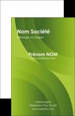exemple carte de visite graphisme vert texture papier au fond vert vert  pastel MLGI7111