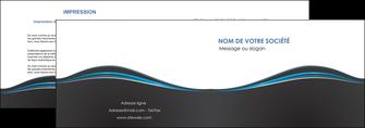 personnaliser maquette depliant 2 volets  4 pages  gris gris fonce mat MLGI71215