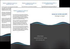 modele depliant 3 volets  6 pages  gris gris fonce mat MLGI71223
