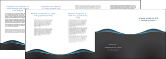 imprimer depliant 4 volets  8 pages  gris gris fonce mat MLGI71241