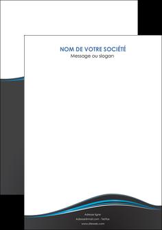 faire modele a imprimer flyers gris gris fonce mat MLGI71243
