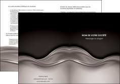 impression depliant 2 volets  4 pages  web design abstrait abstraction design MLGI71351