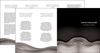 imprimer depliant 4 volets  8 pages  web design abstrait abstraction design MLGI71357