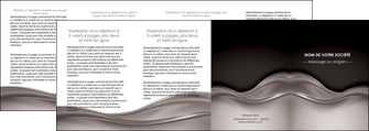creation graphique en ligne depliant 4 volets  8 pages  web design abstrait abstraction design MLGI71359