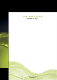 creer modele en ligne affiche espaces verts vert vert pastel fond vert pastel MIF71417