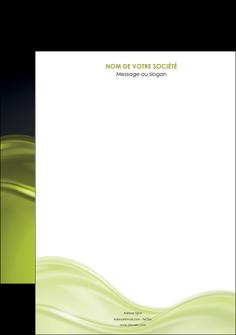 creer modele en ligne affiche espaces verts vert vert pastel fond vert pastel MIF71419