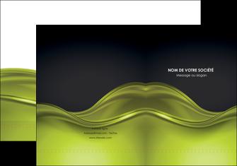 impression pochette a rabat espaces verts vert vert pastel fond vert pastel MIF71427