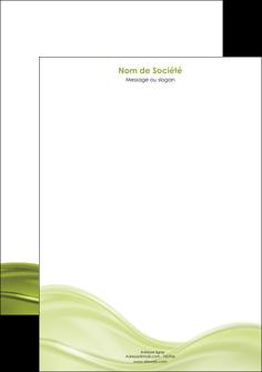 faire tete de lettre espaces verts vert vert pastel fond vert pastel MIF71447