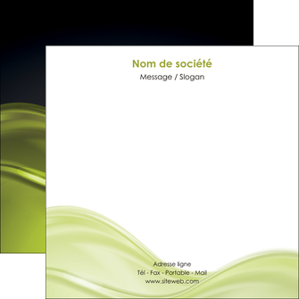 personnaliser modele de flyers espaces verts vert vert pastel fond vert pastel MIF71449