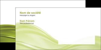 personnaliser modele de enveloppe espaces verts vert vert pastel fond vert pastel MIF71453