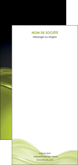 personnaliser modele de flyers espaces verts vert vert pastel fond vert pastel MLGI71465