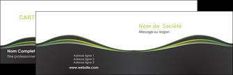 faire carte de visite web design gris gris metallise fond gris metallise MLGI71475