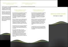 impression depliant 3 volets  6 pages  web design gris gris metallise fond gris metallise MLIG71493