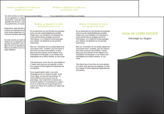 impression depliant 3 volets  6 pages  web design gris gris metallise fond gris metallise MLGI71493