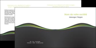 modele en ligne depliant 2 volets  4 pages  web design gris gris metallise fond gris metallise MLIG71497