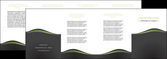 cree depliant 4 volets  8 pages  web design gris gris metallise fond gris metallise MLGI71509