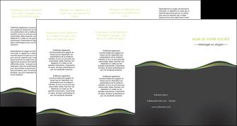 exemple depliant 4 volets  8 pages  web design gris gris metallise fond gris metallise MLGI71513
