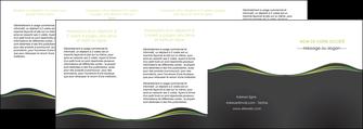 personnaliser maquette depliant 4 volets  8 pages  web design gris gris metallise fond gris metallise MLGI71515