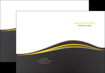 modele pochette a rabat web design gris gris fonce mat MIF71531