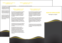 modele en ligne depliant 3 volets  6 pages  web design gris gris fonce mat MIF71545