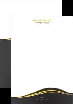 imprimerie tete de lettre web design gris gris fonce mat MIF71551