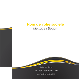 Impression creer son prospectus Web Design creer-son-prospectus Flyers Carré 12 x 12 cm