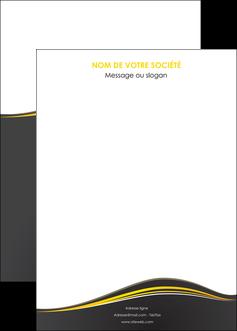 maquette en ligne a personnaliser affiche web design gris gris fonce mat MIF71563