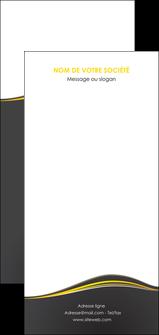 personnaliser maquette flyers web design gris gris fonce mat MIF71569