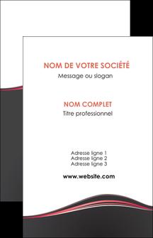 maquette en ligne a personnaliser carte de visite web design gris gris fonce mat MLIG71581