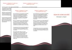 modele depliant 3 volets  6 pages  web design gris gris fonce mat MLGI71597