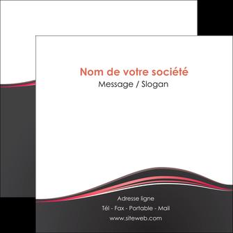 maquette en ligne a personnaliser flyers web design gris gris fonce mat MLIG71605
