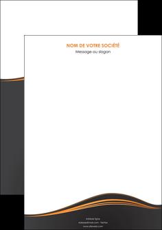 maquette en ligne a personnaliser affiche web design noir fond noir couleur noir MIF71793