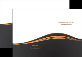 faire pochette a rabat web design noir fond noir couleur noir MIF71805