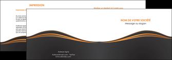 creation graphique en ligne depliant 2 volets  4 pages  web design noir fond noir couleur noir MIF71807