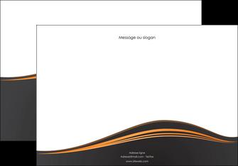 modele en ligne affiche web design noir fond noir couleur noir MIF71813