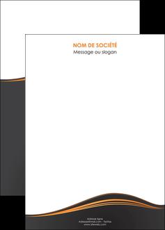maquette en ligne a personnaliser affiche web design noir fond noir couleur noir MIF71835
