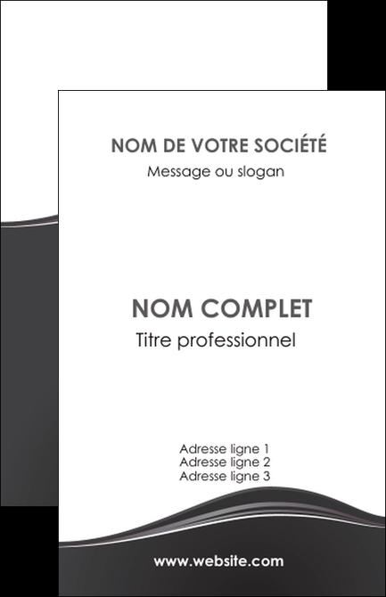Maquette En Ligne A Personnaliser Carte De Visite Web Design Noir Fond Couleur MLGI71905