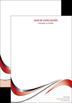 personnaliser modele de affiche web design rouge fond rouge couleur chaude MLGI72105