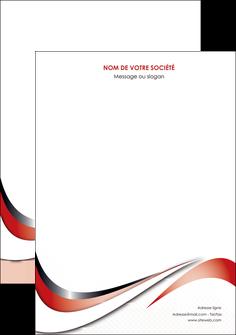 creer modele en ligne affiche web design rouge fond rouge couleur chaude MLGI72107