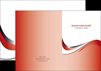 personnaliser modele de pochette a rabat web design rouge fond rouge couleur chaude MLGI72115