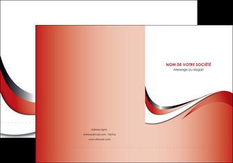 realiser pochette a rabat web design rouge fond rouge couleur chaude MLGI72117