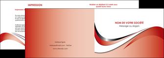 imprimer depliant 2 volets  4 pages  web design rouge fond rouge couleur chaude MLGI72119