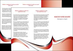 maquette en ligne a personnaliser depliant 3 volets  6 pages  web design rouge fond rouge couleur chaude MLGI72129