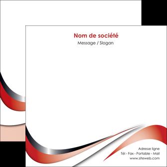 imprimer flyers web design rouge fond rouge couleur chaude MLGI72137